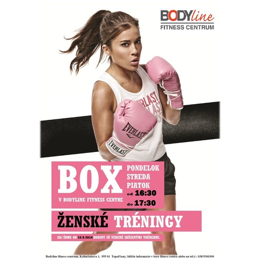 Box Club v BODYline Fitness Centre - Ženské tréningy